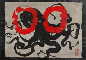 pop, 2012_collage/acrylic/ink on paper_70x100