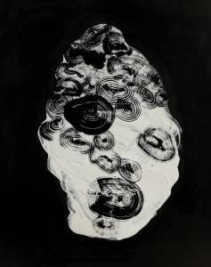 vesper, 2014_acrylic/ink on paper_112x80