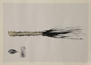 palm III, 2012_vegetable/indian ink on paper_50x70