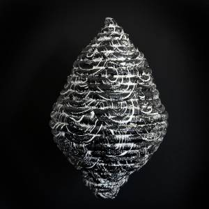 vesper I, 2014_synthetic rope/acrylic/resin