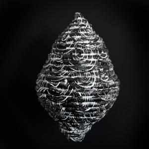 vesper I, 2014_synthetic rope/acrylic/resin