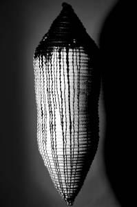 chrysalis, 2014_synthetic rope/acrylic/resin_55x55x170